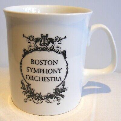 VTG Boston Symphony Orchestra Mug POPS Fine Bone China Made in England White -