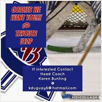 Looking for a Ringette GOALIE!   9-10 years old Girls ONLY