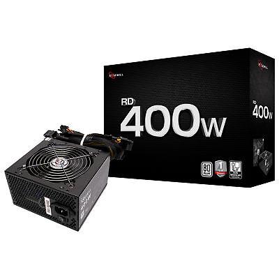 Rosewill 400 Watt Computer Power Supply, 80 Plus White PSU, RD400-2-SB