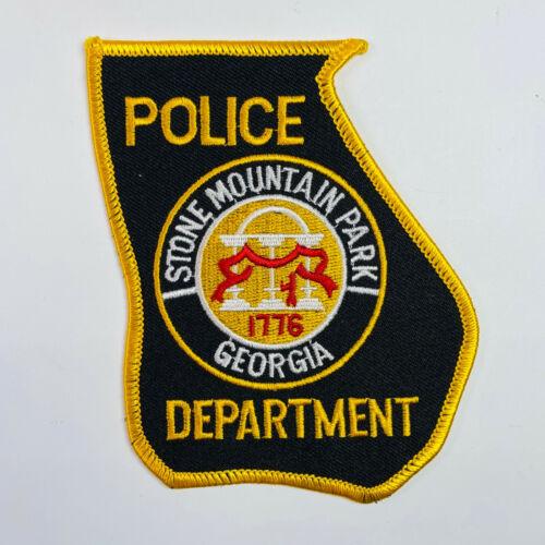 Stone Mountain Park Police Georgia Patch