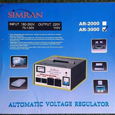 Simran Automatic Voltage Regulator Ar-3000