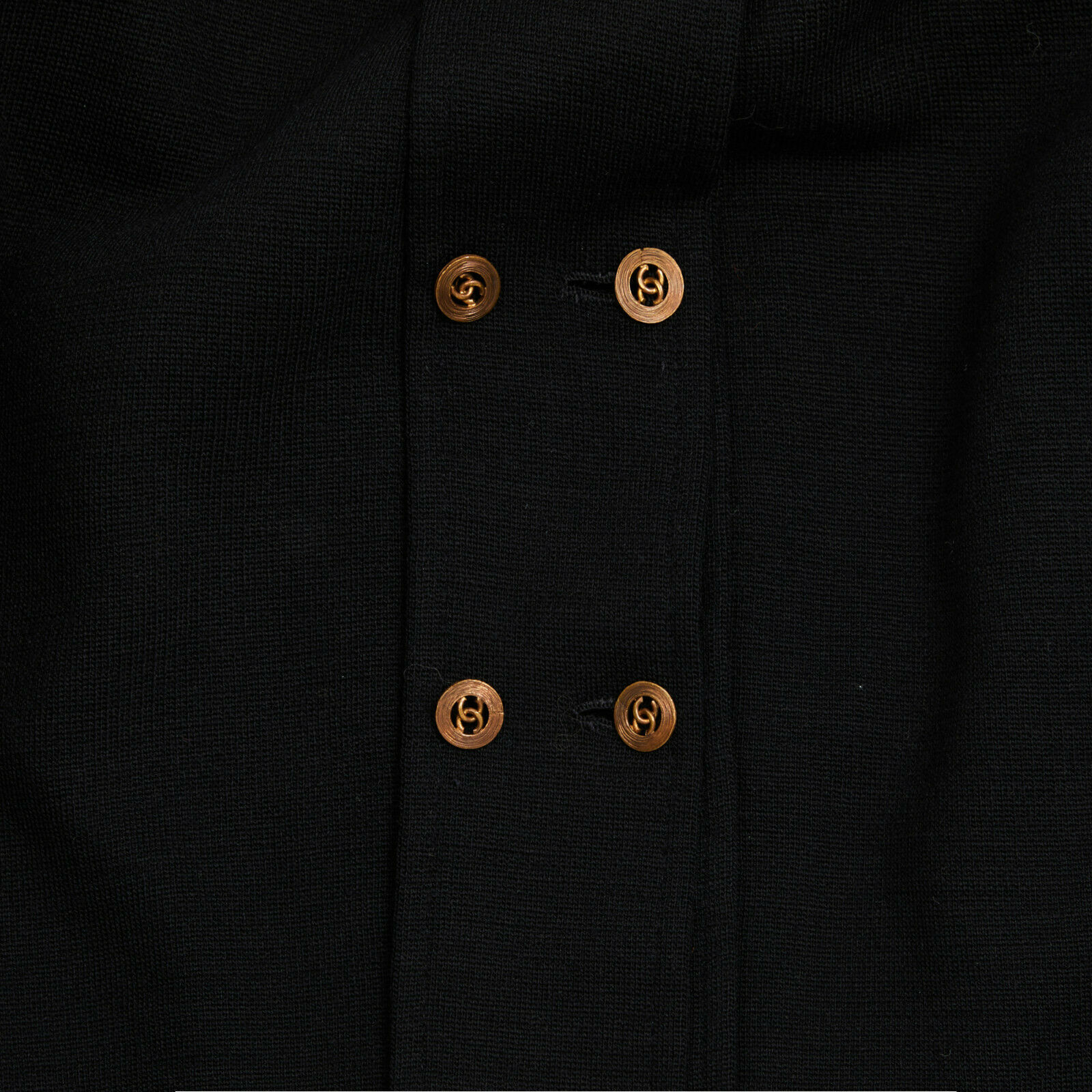 Chanel jacket haute couture black fr36