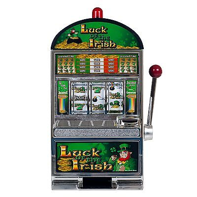 Large Luck of the Irish Slot Machine Bank - 15 Inches Tall
