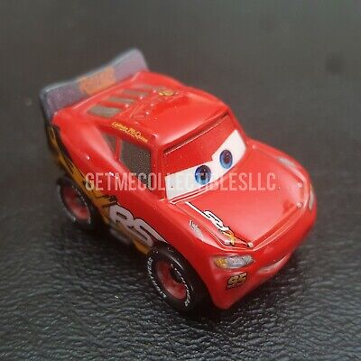 DISNEY PIXAR CARS DIE CAST MINI RACERS XRS LIGHTNING MCQUEEN LOOSE FREE SHIPPING