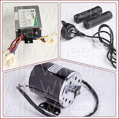 800 Watt 36 V Electric Motor Kit W Base Control Box W Reverse Thumb Throttle