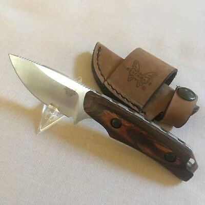 Benchmade HUNT 15016-2 Hidden Canyon Hunter Knife, Dymondwood Handle - Hidden Knives