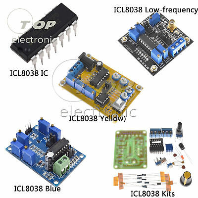 Icl8038 Dc Dds Signal Generator Moduleicdiy Kit Sine Square Triangle Wave