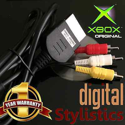 A/V Cable Cord (BRAND NEW) XBOX Microsoft Original (AV Audio Video, x-box) for sale  Shipping to South Africa