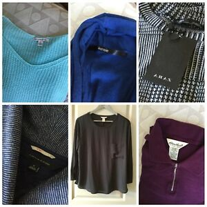 Set of 15 women's sweaters and tops