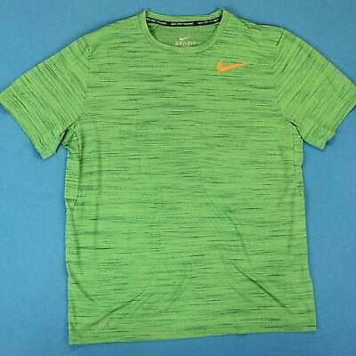 Elite Athlete Sports Training - NIKE PRO T Shirt ~ Men XL ~ Athletic Sport Training Green Workout Elite Tee