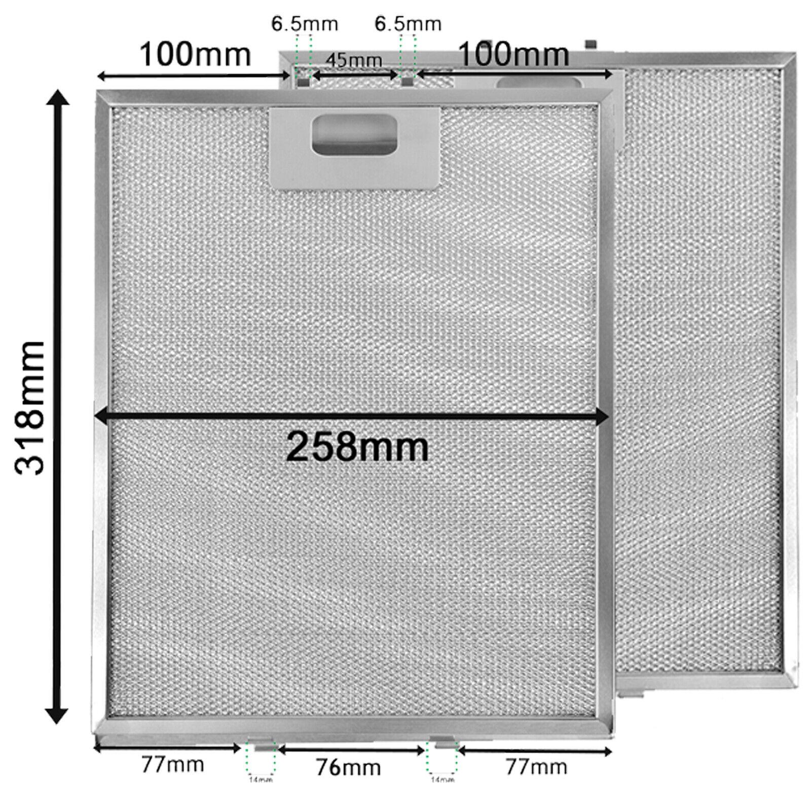 36900439 Genuine Lamona LAM2503 Metal Grease Mesh Filter Cooker Hood