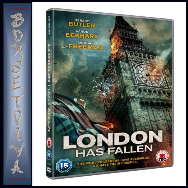 LONDON HAS FALLEN - Gerard Butler  *BRAND NEW DVD**