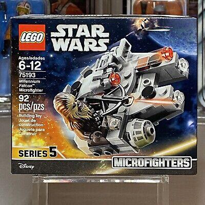LEGO Star Wars MILLENNIUM FALCON Microfighter 92 Pcs Series 5 #75193 NEW SEALED