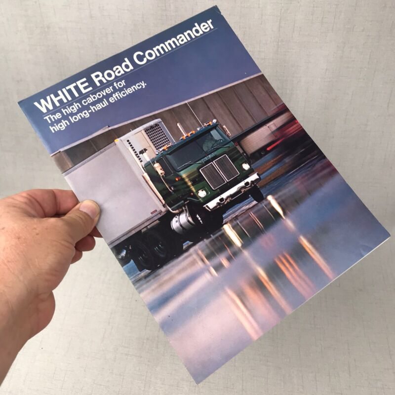 White Road Commander High Cabover 1989's White Trucks Sales Brochure