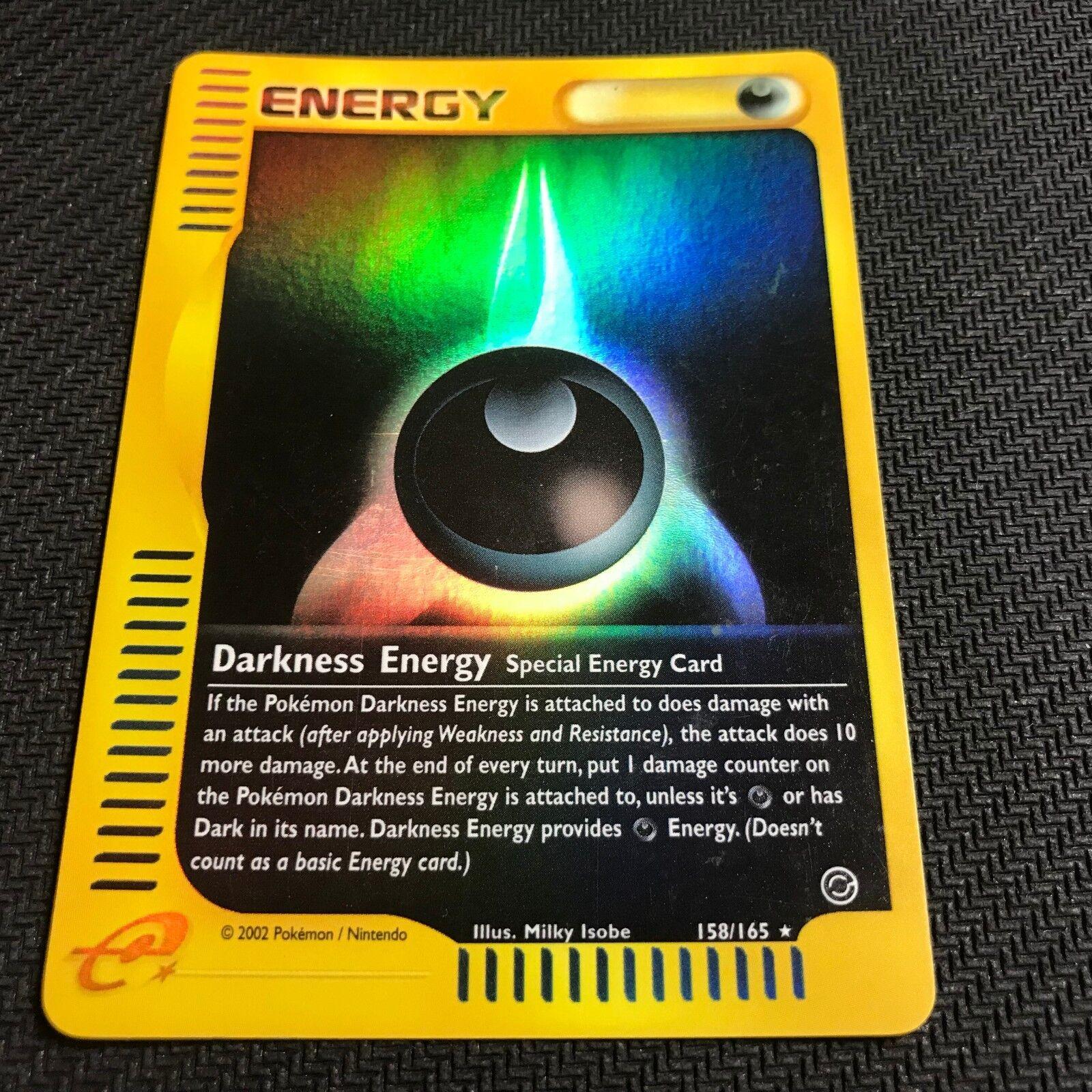 Darkness Energy Expedition Englisch Pokemon 158//165