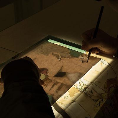LED A3 Leuchttisch Leuchtpult Lichttisch Leuchtplatte dimmbar Leuchttablett