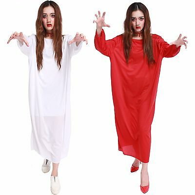 Sadako Costume Halloween Horrible Role Play Dress Sexy Lingerie Skirt - Horrible Womens Halloween Costumes