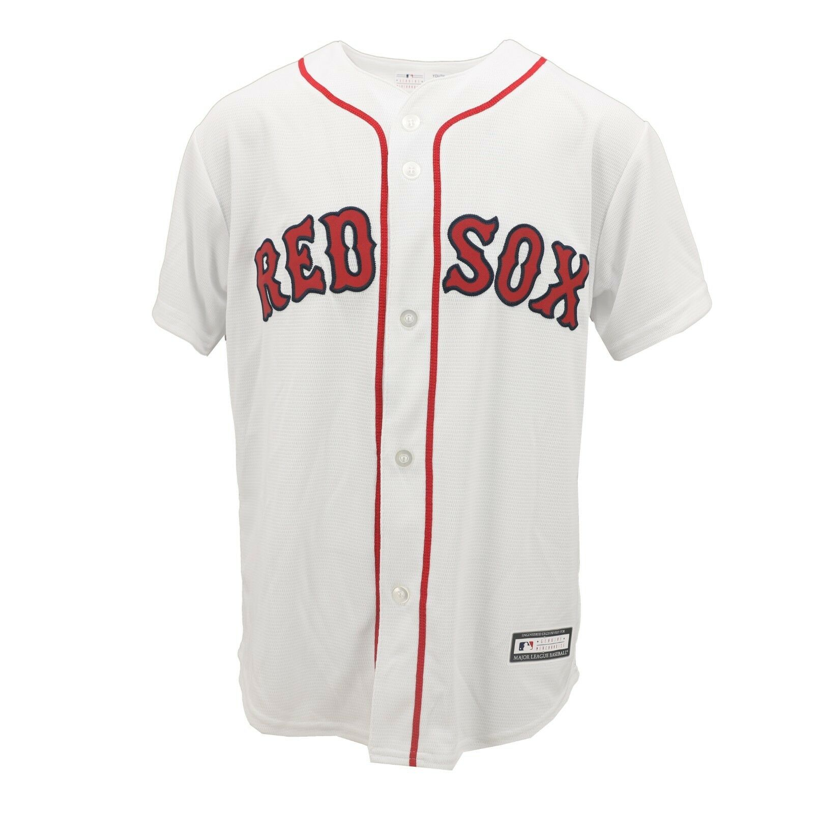 sports shoes 8a5f5 c8774 Details about Boston Red Sox MLB Genuine Kids Youth Size Andrew Benintendi  Jersey New Tags