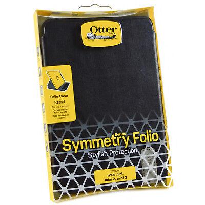 Neu Original Otterbox Symmetry Leder Folio Schutzhülle Ständer für IPAD Mini