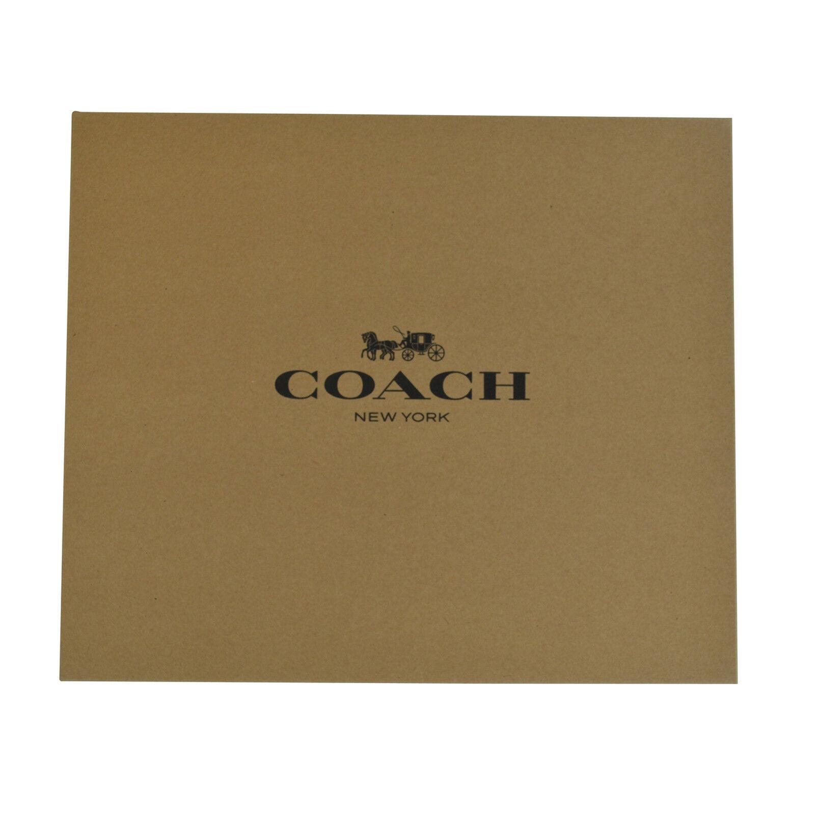 Coach Gift Box Medium Brown Black Logo For Handbag Bag Tote