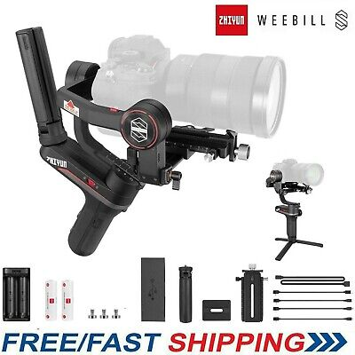 Zhiyun Weebill S Gimbal Stabilizer for DLSR Mirrorless Camera Sony Canon Nikon