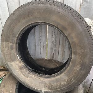 4 x 255/70R17 summer tires for $400