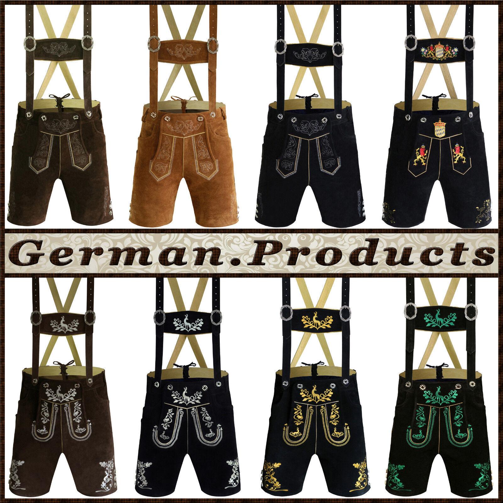 Authentic German Bavarian Oktoberfest Trachten Men Wear Shor