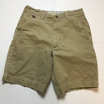 Abercrombie Fitch Khaki Men's Size 34 Chino Shorts