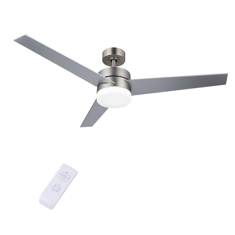 """52"""" Modern Ceiling Fan Light w/ 15W LED Light Remote Contr"""
