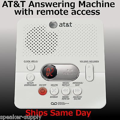 AT&T ATT1740 Digital Answering Machine System 60 Minutes Remote Access Telephone on Rummage