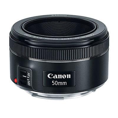 Canon EF 50mm f/1.8 STM Lens *NEW*