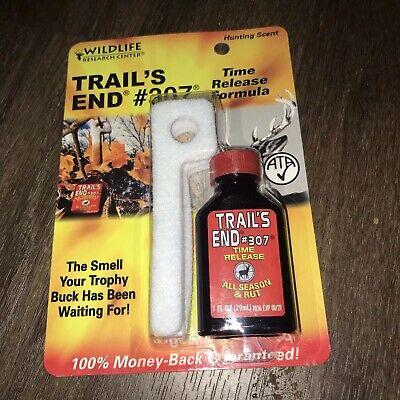 Doe Urine Deer Scent - Wildlife Research TRAILS END 1oz #307 DEER LURE/SCENT Doe Urine Buck FAST SHIP!!