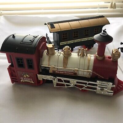 Christmas Train Set The HOLIDAY EXPRESS Animated Train NEW BRIGHT Set 1988