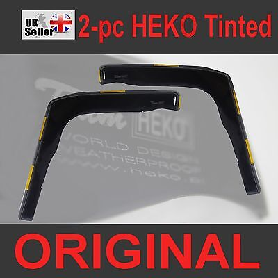 FORD TRANSIT CONNECT MK2 2013-onwards 2-pc Wind Deflectors HEKO Tinted