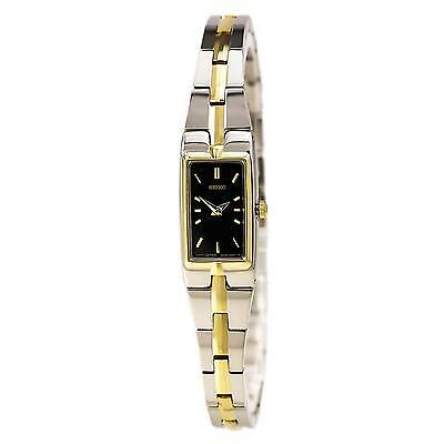 Seiko SZZC42 Women's Rectangular Face Bracelet Watch