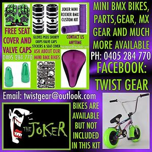 Joker Mini Rocker BMX Park stunt bike custom kits Heddon Greta Cessnock Area Preview