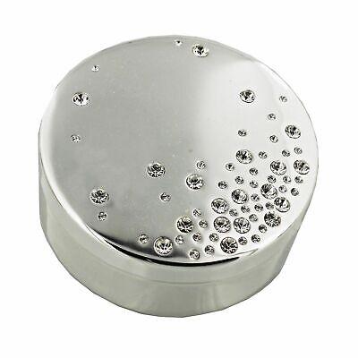 Oropel/Caja de Joyería Cristal con Tachas Lift De Tapa Terciopelo Forrado SP731