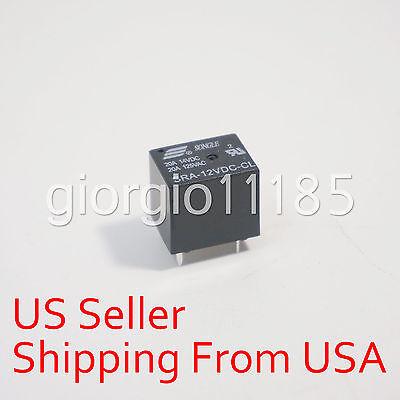 10 pcs SRA-12VDC-CL DC 12V Coil 20A PCB General Purpose Relay 5 Pin SPDT New
