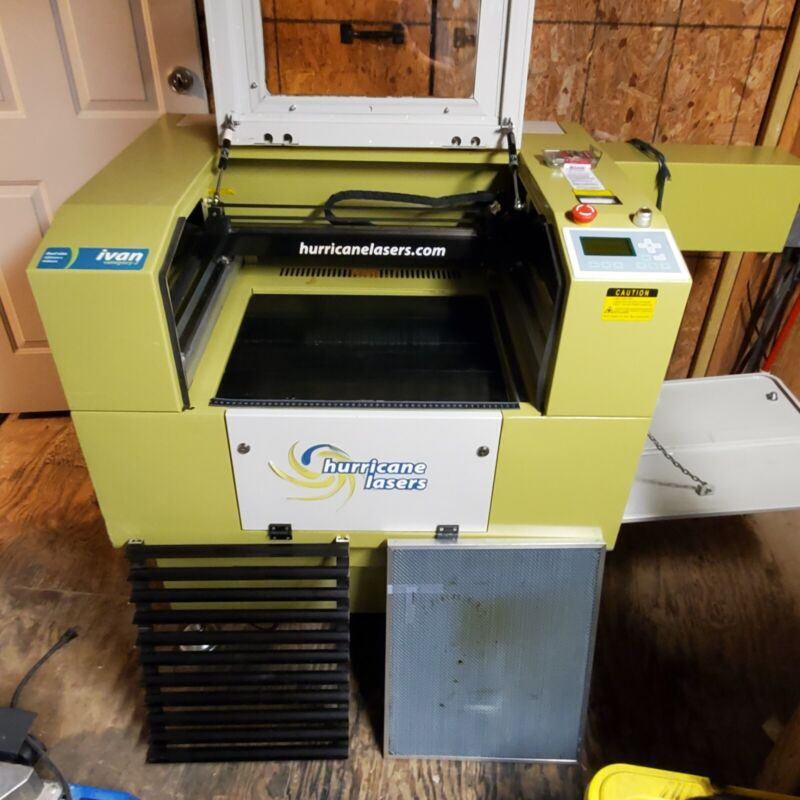 Hurricane Lasers IVAN Catagory II Bedsize Lazer Engraver