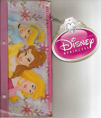 Princess Belle Merchandise (DISNEY MERCHANDISE PLASTIC PENCIL CASE  PRINCESSES CINDERELLA, BELLE, &)