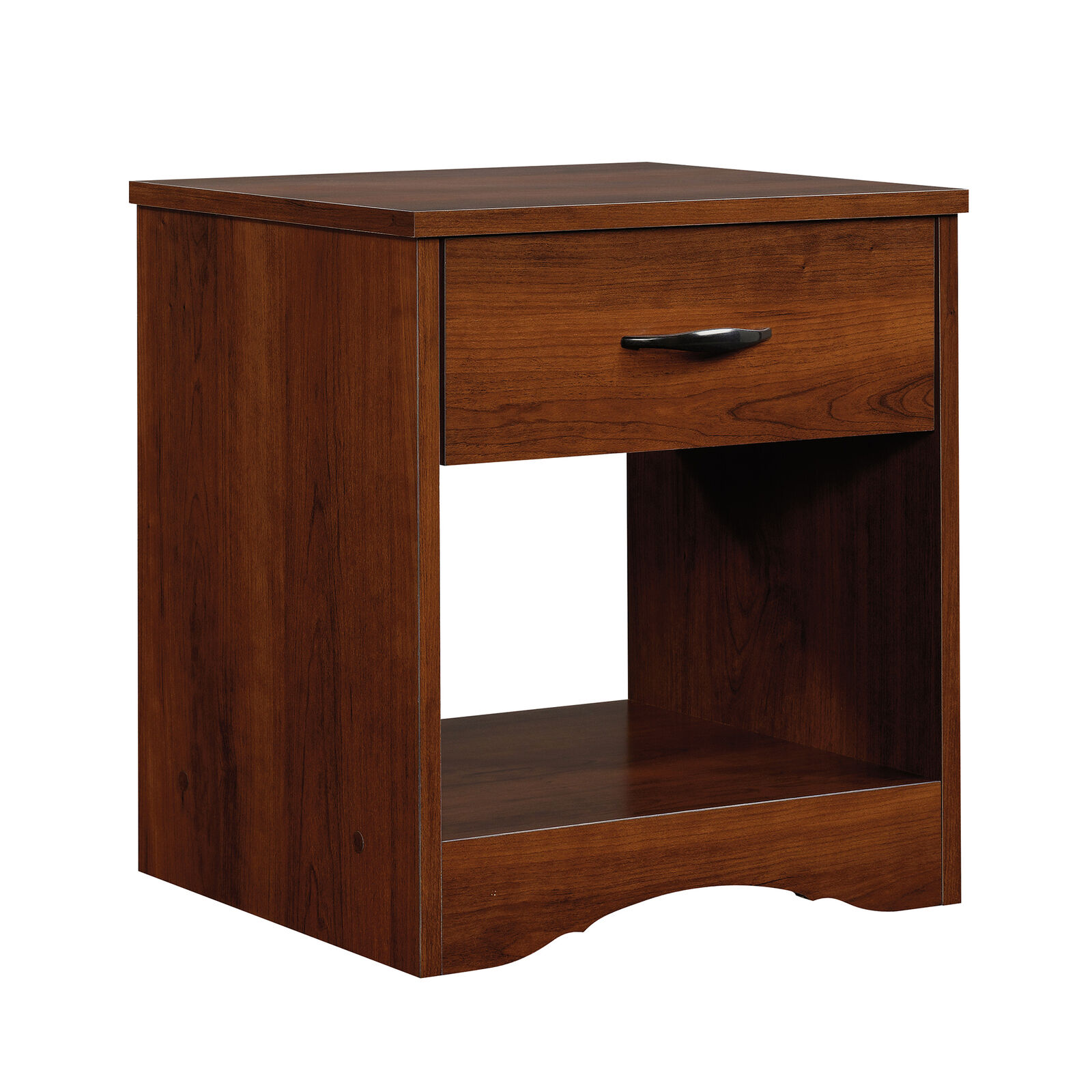 Modern Night Stand Bed Side Lamp Table Shelf Wood Simple Bedroom Furniture Brown Ebay