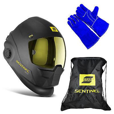 Esab Halo Sentinel A50 Automatic Welding Helmet 0700000800 Bag Welding Glove