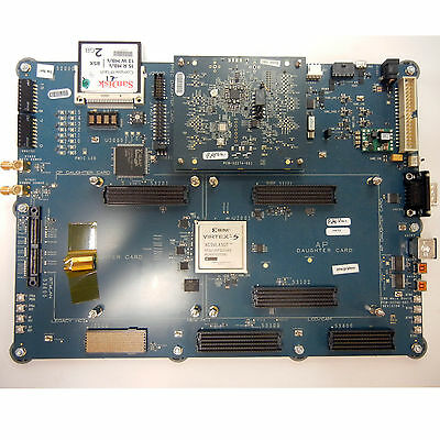 Xilinx Virtex 5 Fpga Development 1 Plug-in Add-on Module Cf Card. Kit 9