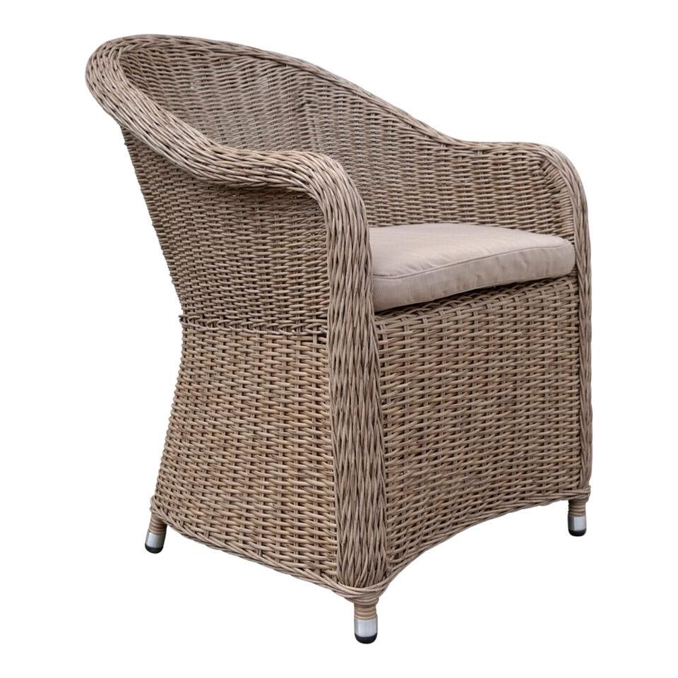 Poly Rattan Sessel Garten Stuhl Lounge Sessel NEU