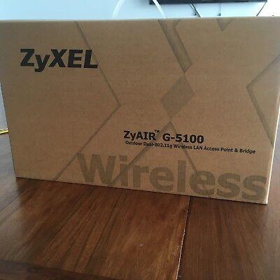 802.11g Outdoor Access Point - ZyAIR G-5100 Outdoor Dual-802.11g Wireless LAN Access Point & Bridge
