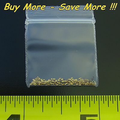.205 Gram Natural Raw Alaskan Placer Gold Dust Fines Nugget Flake Paydirt 18-20k