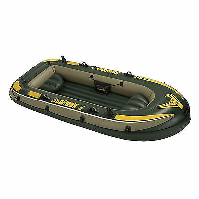 2017 Intex Seahawk 3 Boat - three man inflatable dinghy tender fishing #68349