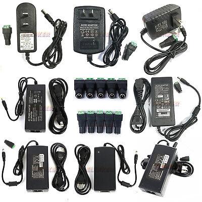 Power Supply Adapter AC To DC 12V 2/3A/4A/5A/6A/8A/10A 3528 5050 LED Strip Light ()