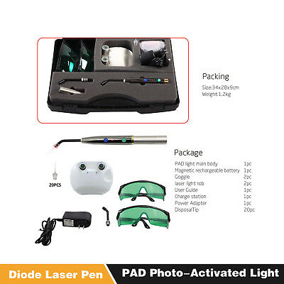 Dental Laser System Heal Laser Diode Photo-activated Soft Tissue Pen Lamp