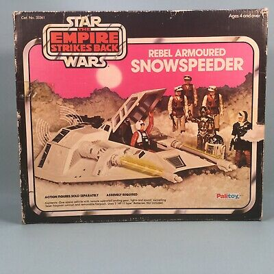 Star Wars Vintage Palitoy ESB Rebel Snowspeeder Boxed Action Figure Vehicle